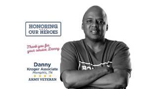 Honoring our Heroes Veteran Danny│VIDEO │Kroger