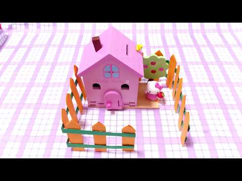 DIY Miniature Fence | How to make Paper Fence for Small House | #Craftidea Fence