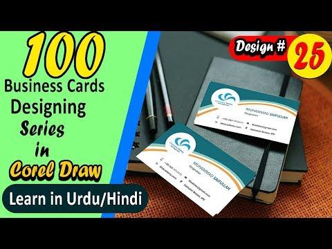 business card design in coreldraw | Nikkies Tutorials