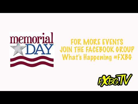 FXBG Entertainment Report - Memorial Day Weekend