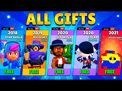 All Gifts Brawl Stars (2018-2021)