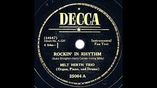 1938 Milt Herth Trio - Rockin' In Rhythm