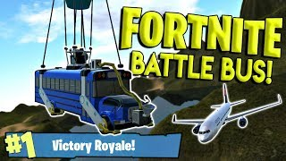 BEST FORTNITE BATTLE BUS & REALISTIC 767 PLANE! - Simple Planes Creations Gameplay - EP 15