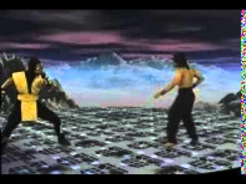Federation of Martial Arts: Liu Kang vs Scorpion - Round 1
