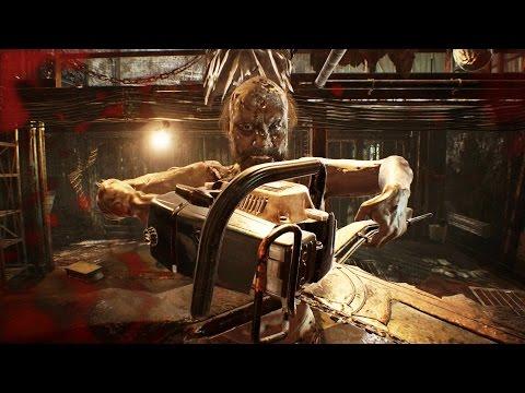 Resident Evil 7: Jack Baker Boss Fight (2nd Encounter) (1080p 60fps)