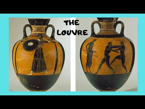 The Louvre Spectacular Classical Era Greek Vases Exhibit Paris