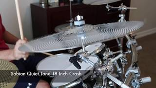 [3.87 MB] Sabian Quiet Tone vs Zildjian L80 Low Volume Cymbal Comparison