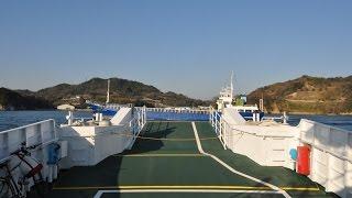 しまなみ海道;宮窪港~尾浦港間で異常接近・・・したと思った船(音声なし)