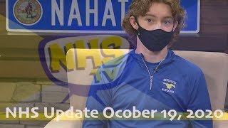 NHS Update October 19, 2020