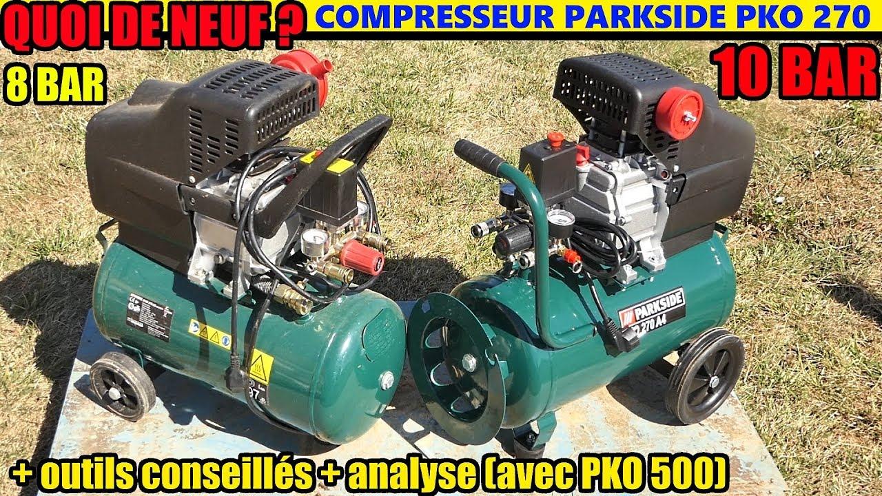 Compresseur Parkside Pko 270 Lidl Blablalidlcom Avis