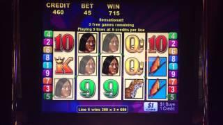Brazil Bonus Round Jackpot at $45/pull on Brazil in Blackhawk CO