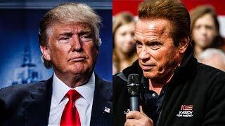 The Trump/Schwarzenegger Rivalry — A National Embarrassment