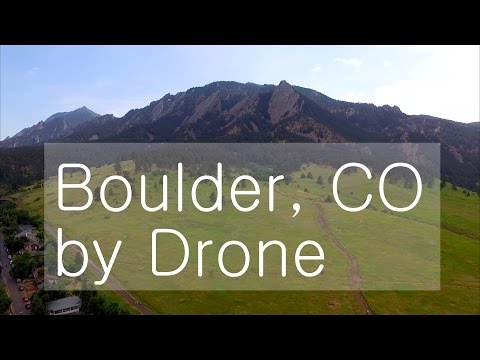 Incredible Boulder, Colorado Drone Footage! (Aerial Montage in UHD!)