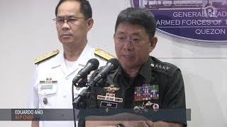 watch afp chief eduardo an o on the clashes with the abu sayyaf in bohol