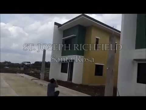 House and Lot for Sale in Sta.rosa Laguna│ST. JOSEPH RICHFIELD Ayami model by P.A. Properties