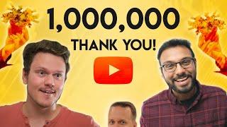 ONE MILLION+ THANKS TO YOU!