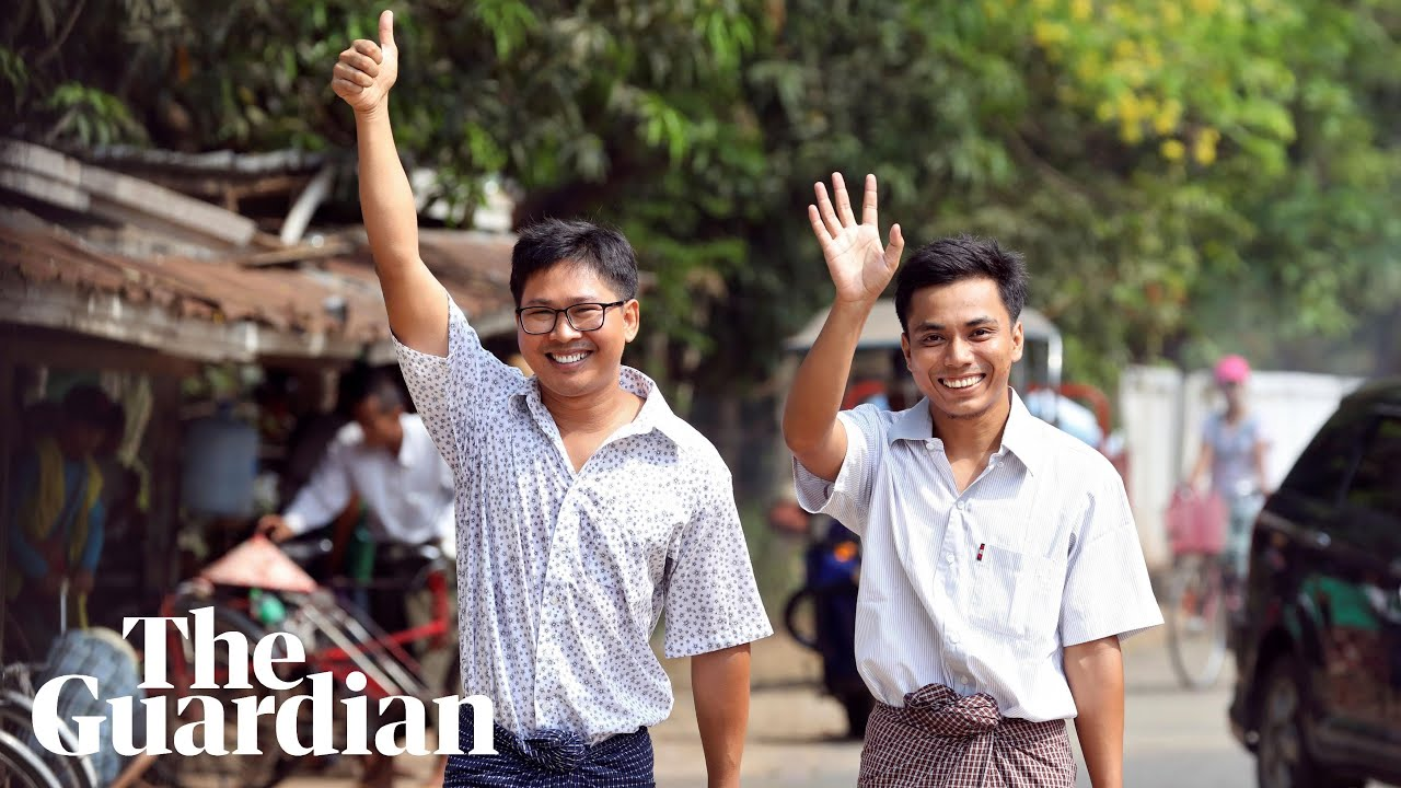 Reporters freed after more than 500 days in Myanmar prison