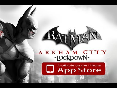 Batman Arkham City Lockdown GAMEPLAY Review iPhone, iPod Touch and iPad