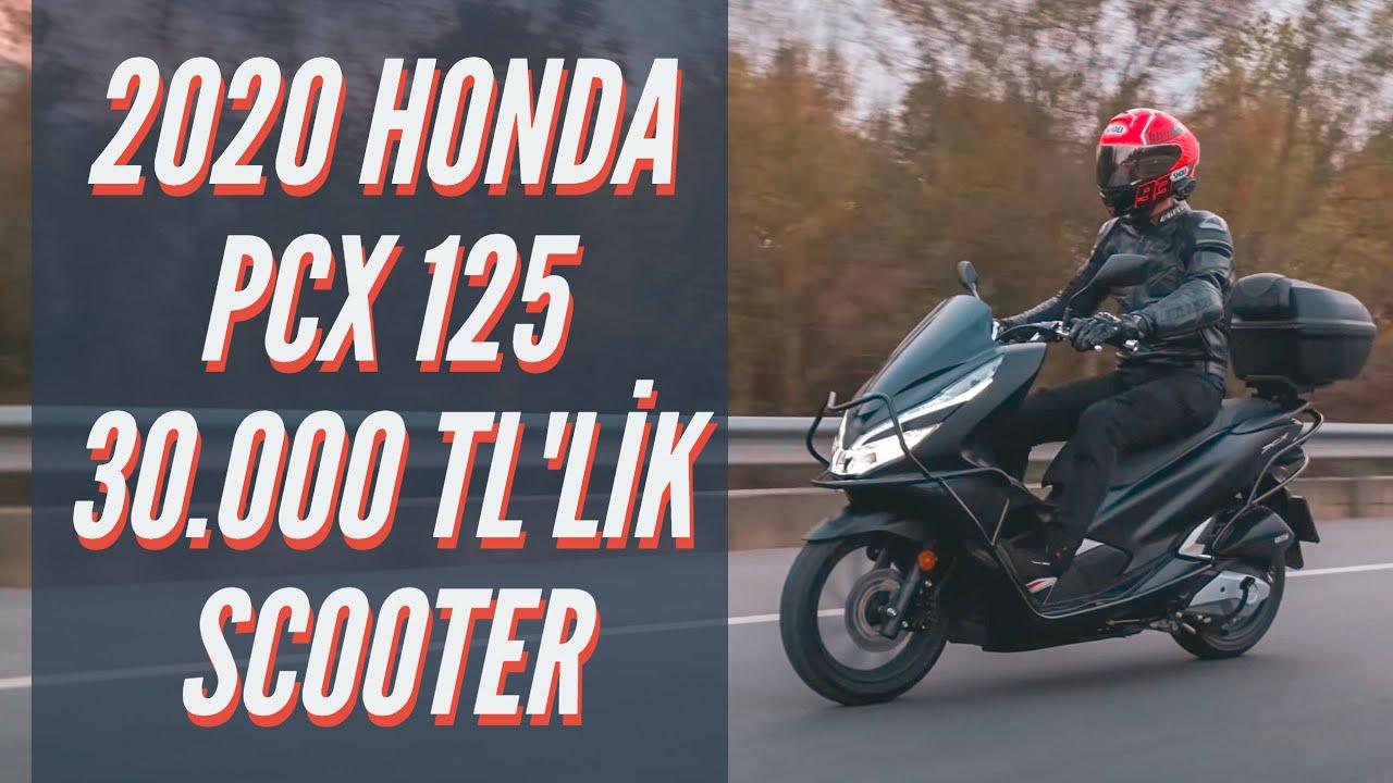 2020 HONDA PCX 125 İNCELEDİK/ 30.000 TL'LİK 125CC SCOOTER