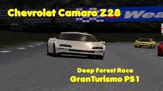 274 - Chevrolet Camaro Z28 - Deep Forest - Race - Gran Turismo 1997 PSX Games
