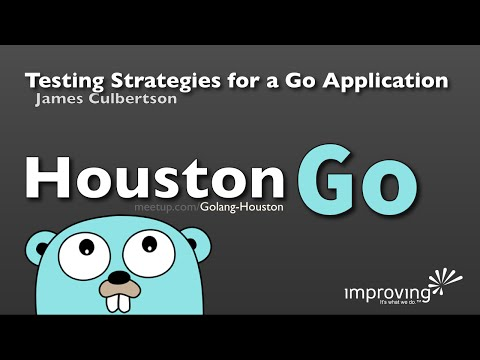 Houston Go - Testing Strategies for a Go Application