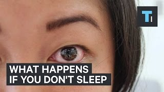 What happens if you don't sleep