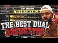 THE BEST DUAL ARCHETYPE BUILD IN NBA 2K18 & THE BALDY GOD PG CREATION SHOT CREATING + BALL HANDLING