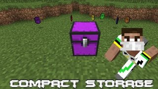 Minecraft Mod Review - CompactStorage Thumbnail