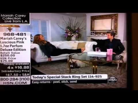 Pregnant Mariah Caught Lounging