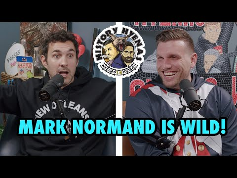 Mark Normand Is WILD! | Ep 181 - History Hyenas