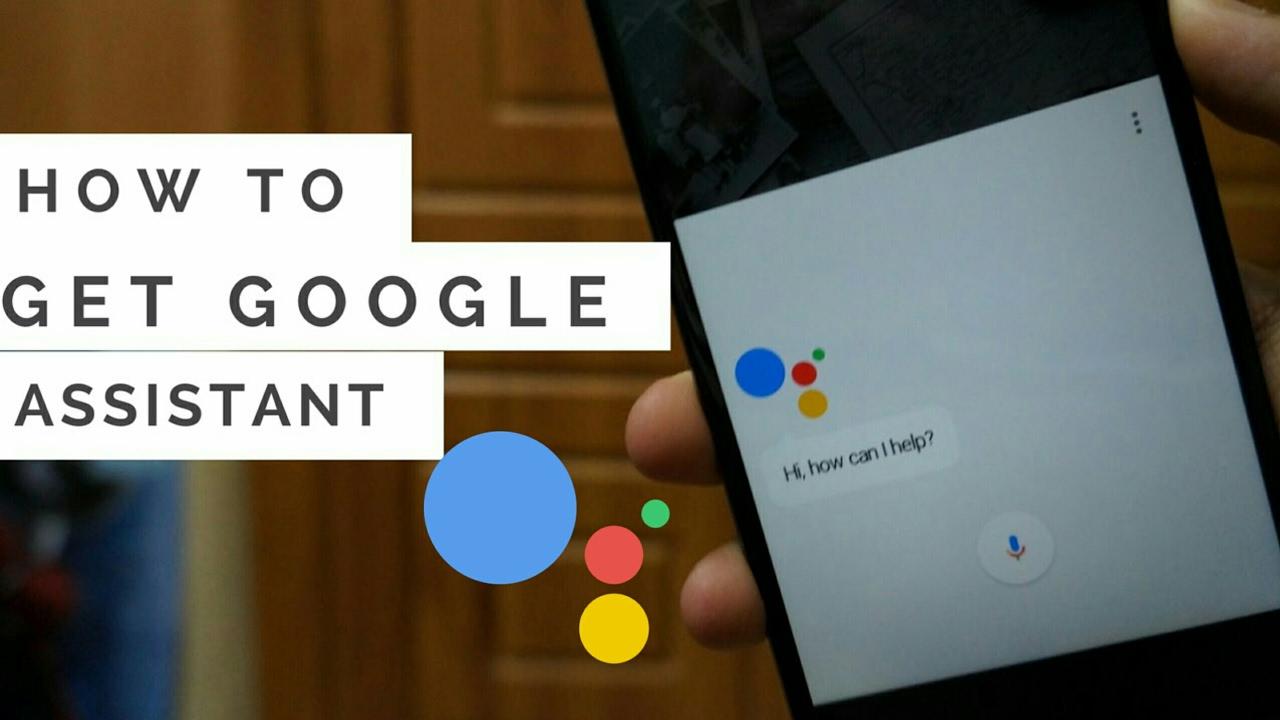Download Google Assistant APK for Marshmallow, Nougat