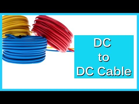 How To Make A Simple DC To DC Cable
