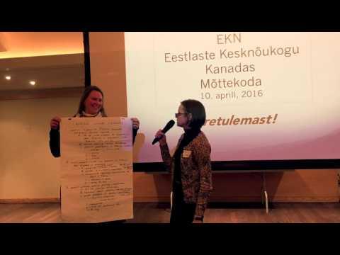 EKN Mõttekoda / visioning session - 2016