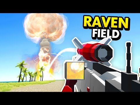 INSANE HANDHELD NUKE LAUNCHER IN RAVENFIELD (Ravenfield Funny Gameplay)