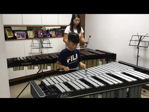 Sonatina in C by Clementi (Marimba and Vibraphone)
