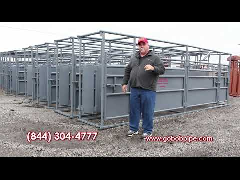 FLASH SALE Cattle Flow Adjustable Alleys Now On Sale!! From GoBob Pipe And Steel