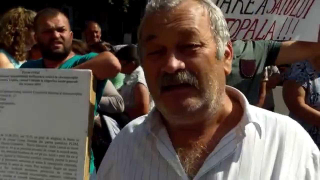 Vor dreptate la #Topala. Protest în fața #MAI