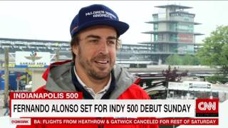 Fernando Alonso on Racing in the Indy500