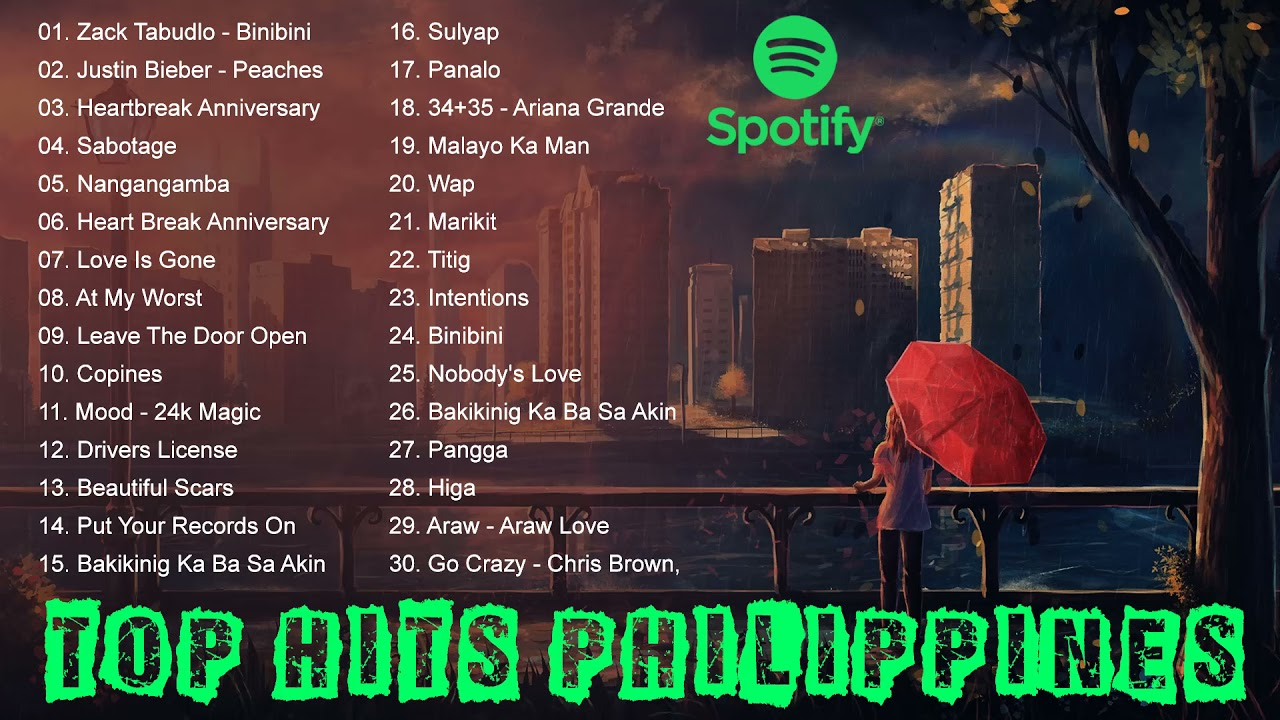 Download Spotify  Philippines of September , 2021 - Top Hits Philippines - Top songs Philippines 2021