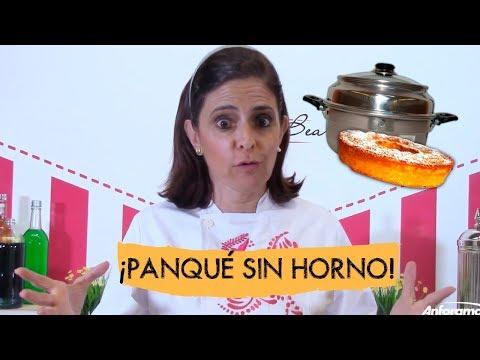 Panqué sin horno PASO A PASO en horno milagro