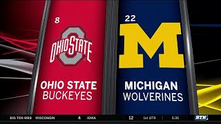 Ohio State at Michigan - Men's Basketball Highlights