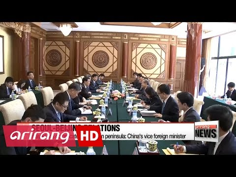 Seoul, Beijing discuss patching frayed relations