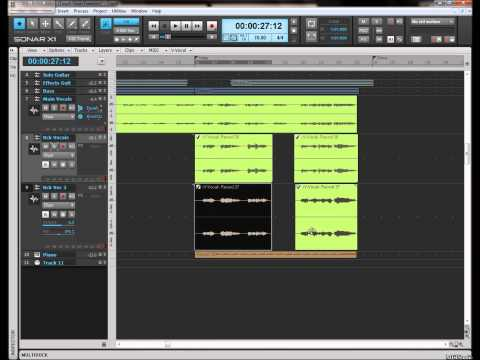 Harmony and Backing Vocal recording tips