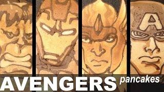 Avengers Pancake Art