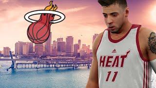 NBA 2k16 My Career -  Miami Heat Debut Ep.9