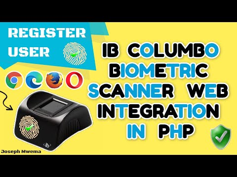 Ib Columbo Finger Scanner PHP Web Biometric integration - First Time integrating with an LES Scanner