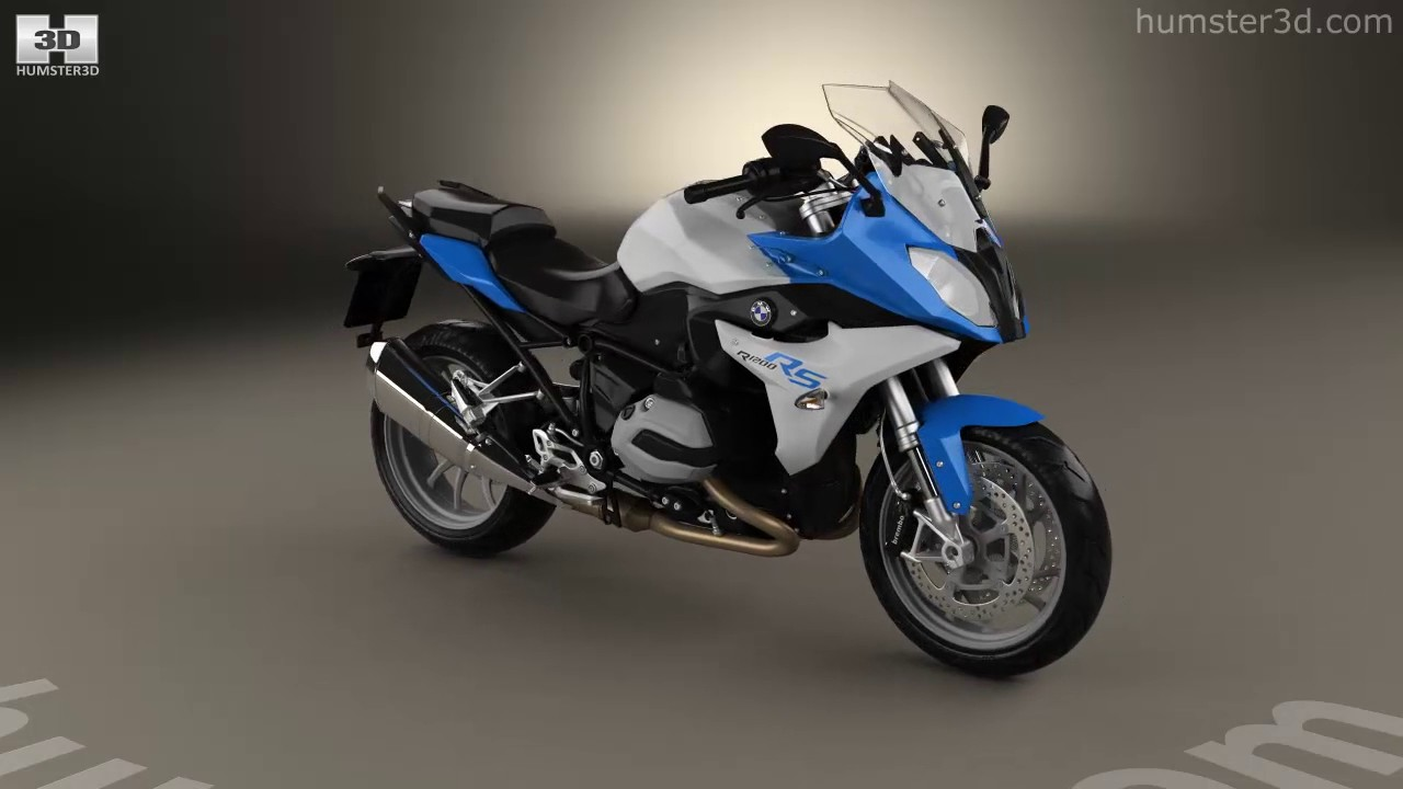 bmw r1200rs 2015 3d model by youtube. Black Bedroom Furniture Sets. Home Design Ideas