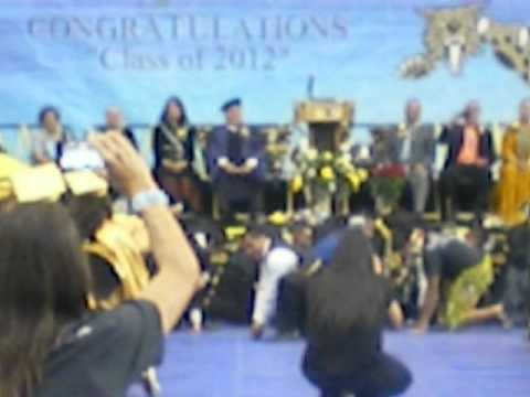 Chinle High School Graduation 2012 - Football Team