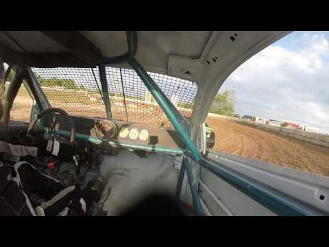 Ransomville speedway 4cyl heat 8/5/16 #43