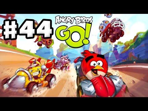 Angry Birds Go! Gameplay Walkthrough Part 44 - So Many Gems! Stunt (iOS, Android)